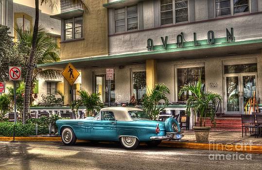 Miami Beach Art Deco 1 by Timothy Lowry