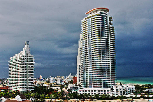 Miami Buildings by Al Shields
