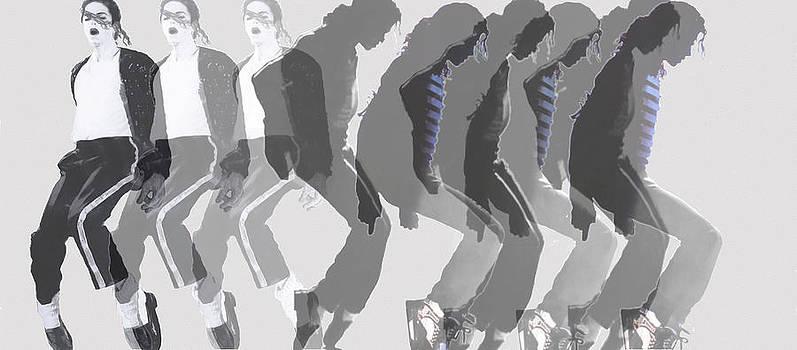 Dominique Amendola - Michael Jackson a la Warhol by Dominique Amendola