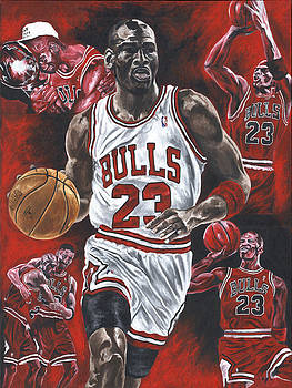 Michael Jordan by David Courson