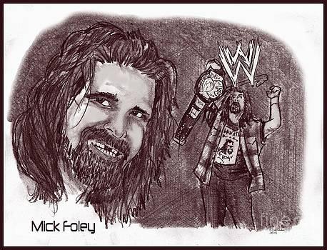 Chris  DelVecchio - Mick Foley