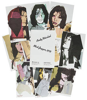 Mick Jagger Suite of 10 by Andy Warhol