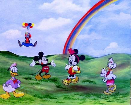 Mickey's Gang by Rich Fotia