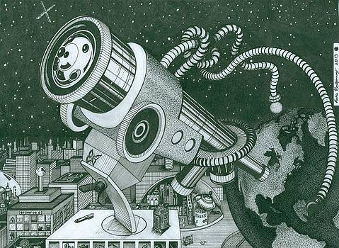 Microscope or Telescope by Richie Montgomery