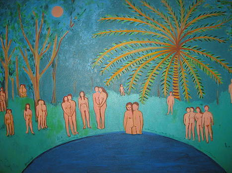 Midnight Bathers by Sandra McHugh