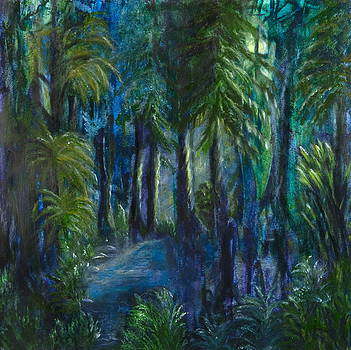 Midnight Oasis by Anne Kibbe