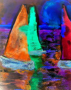 Midnight Sails by Cheryl Ehlers