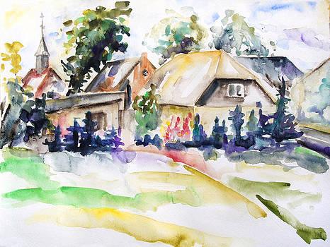 Midsummer In The Mecklenburg Village Nossentin by Barbara Pommerenke