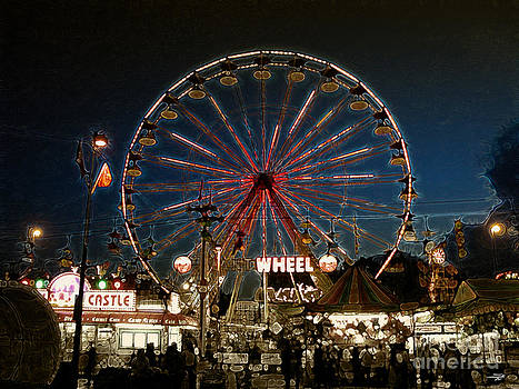 Stuart Turnbull - Midway memories - Giant Wheel 3