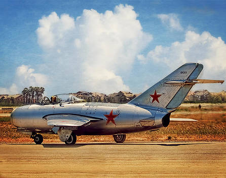 Mig-15 by Steve Benefiel