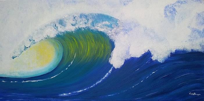 Mighty Wave by Carol De Bruyn