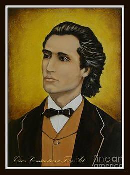 Mihai Eminescu  by Elena  Constantinescu