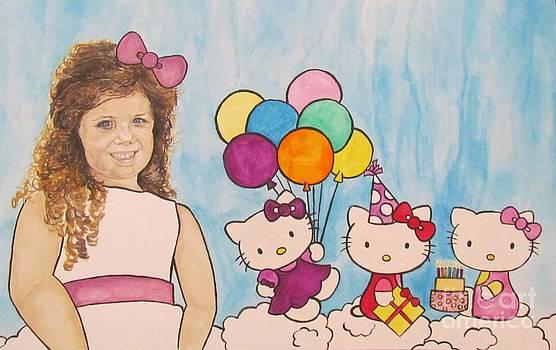 Mika Hello Kitty by Tamir Barkan
