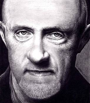Mike Ehrmantraut - Breaking Bad by Rick Fortson