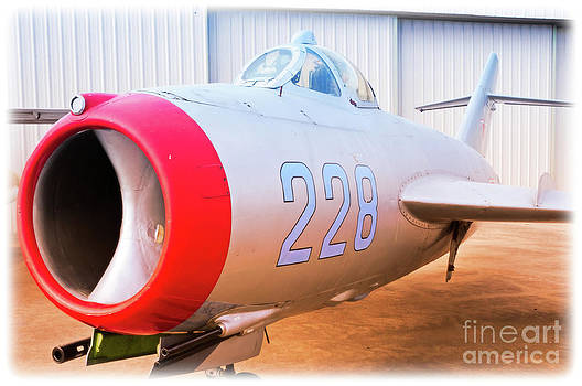 Mikoyan Gurevich MiG-17F by Charles Dobbs