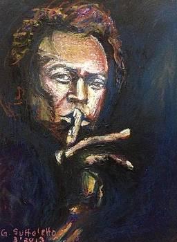 Miles Davis by Genevieve Elizabeth