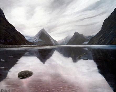 Milford Sound New Zealand by Dawson Taylor