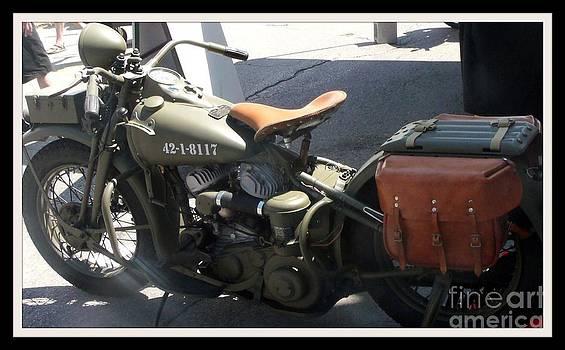 Gail Matthews - Military Motorcycle