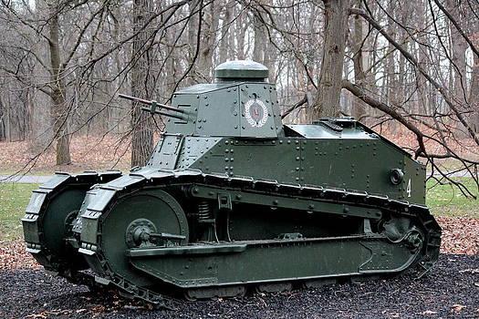 Rosanne Jordan - M1917 Light Military Tank