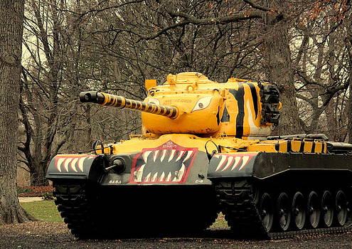 Rosanne Jordan - M46 Patton Military Tank