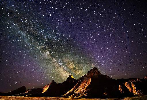 Milky Way in the Badlands by Jennifer Brindley