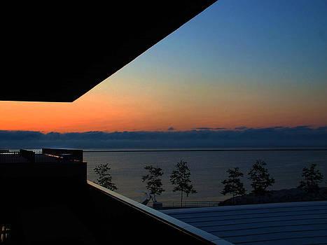 Milwaukee Sunrise by Janet Maloy