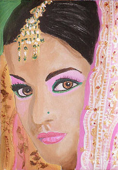 Mina Indian Bride by Kate Farrant
