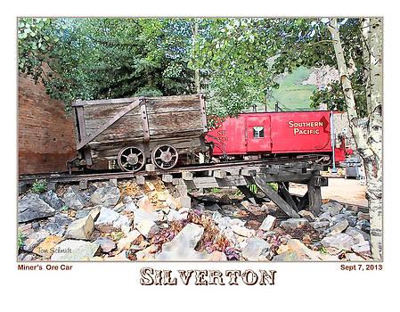 Miner's Ore Car by Tom Schmidt