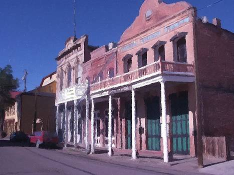 Miners Union Hall Virginia City Nevada by Kevin Heaney