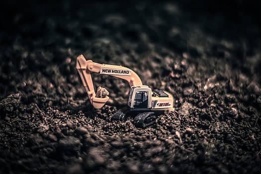 Mini Excavator by Matti Ollikainen