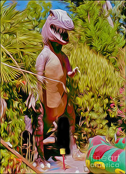 Gregory Dyer - Mini-Golf T-Rex