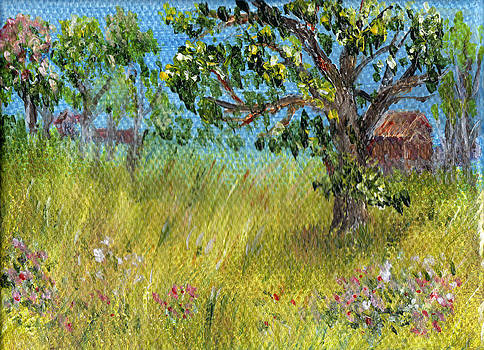 Regina Valluzzi - miniature farm scene