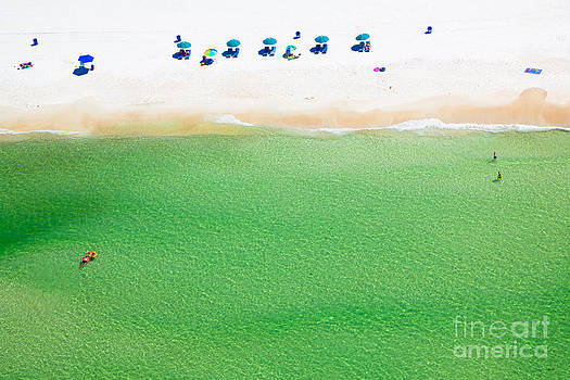 Miniature Panama City Beach Florida by Christy Woodrow