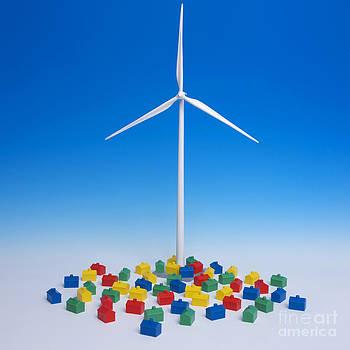BERNARD JAUBERT - Miniature wind turbine