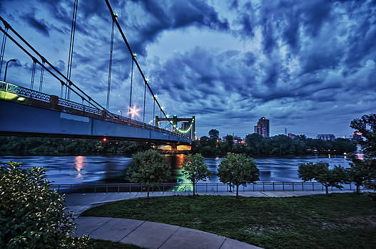Minneapolis Blue Hour by Kevin Pate