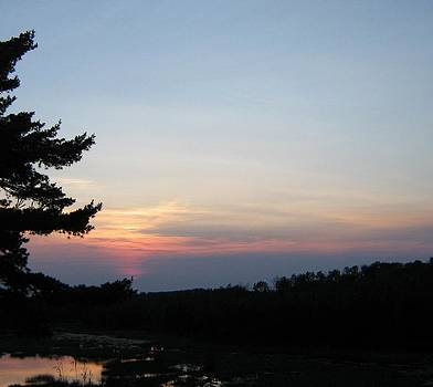 Minnesota Sunset by Barbara Yearty
