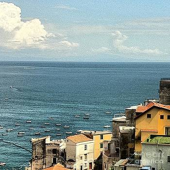 Minori by the Sea by H Hoffman