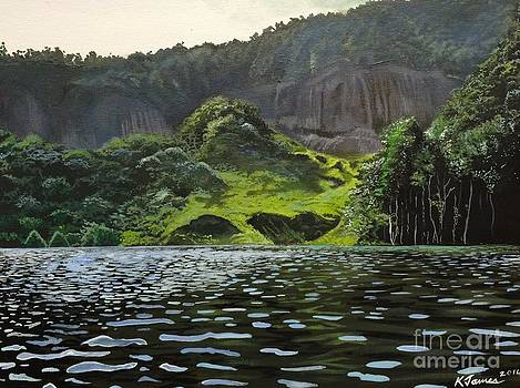Miracle Lake by Kelvin James
