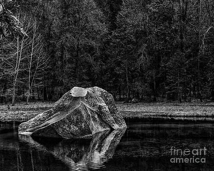 Mirror Lake Boulder by Terry Garvin