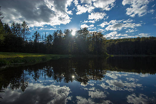 Mirrored Clouds by Laurel Butkins