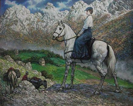 Miss Edith Durham a great friend of Albanians by Lazar Taci