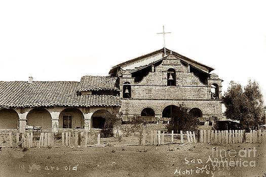 California Views Mr Pat Hathaway Archives - Mission San Antonio de Padua California circa 1881