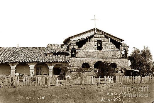 California Views Mr Pat Hathaway Archives - Mission San Antonio de Padua california Circa 1885