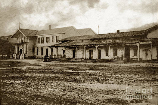 California Views Mr Pat Hathaway Archives - Mission San Francisco de Asis Mission Dolores and Mission House Calif. 1880