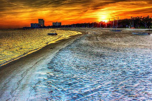Barry Jones - Beach - Coastal - Sunset - Mississippi Gold