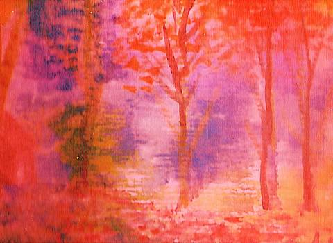 Anne-Elizabeth Whiteway - Misty Autumn Morning Another View