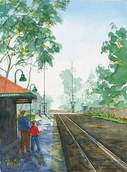 Misty Depot by Ray Cole