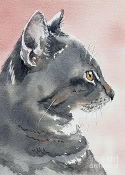 Misty in Profile by Lynn Babineau