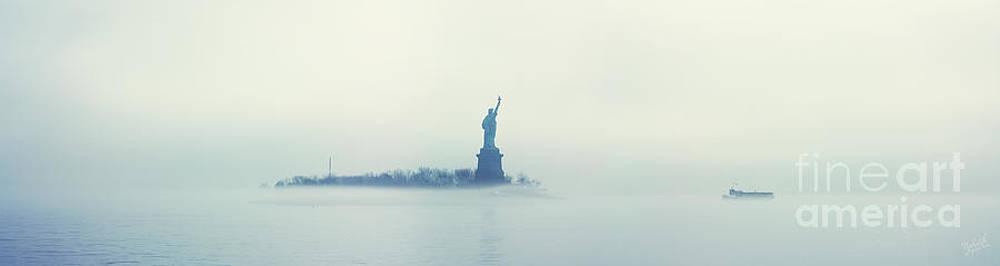 Misty Liberty by Nishanth Gopinathan