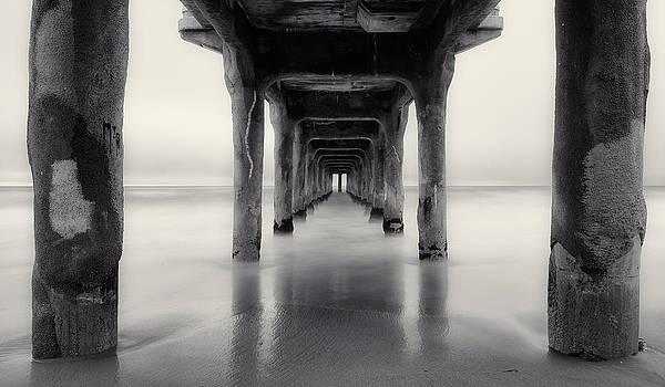 Adam Pender - Misty Manhattan Pier